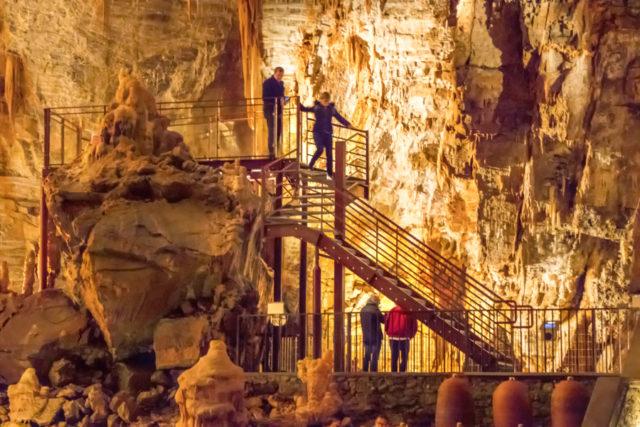 aménagement Anecat Grottes de France gouffre de Cabespine