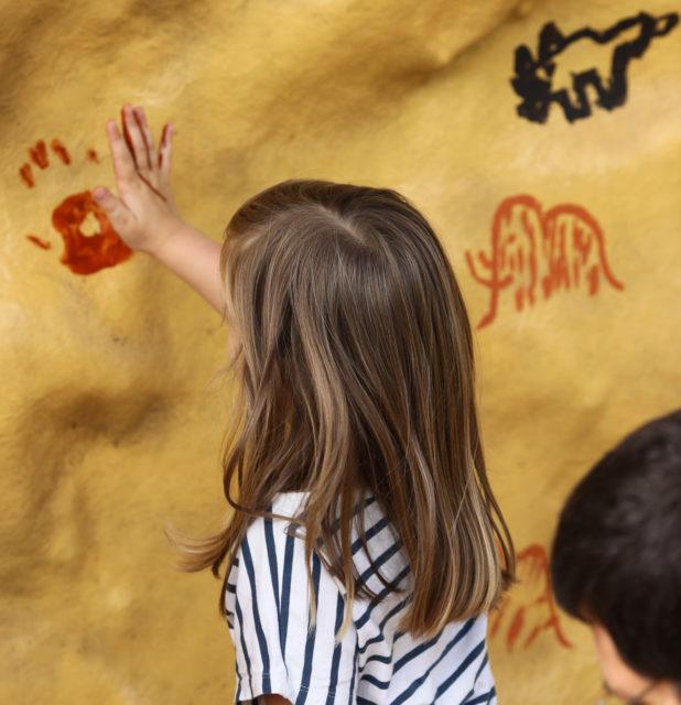 grotte dordogne périgord grotte de villars atelier-peinture