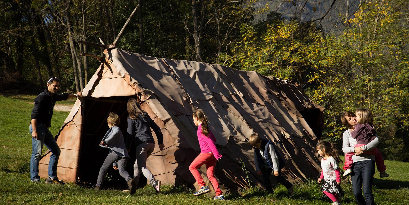 niaux_parcprehistoire activités autour des grottes de France