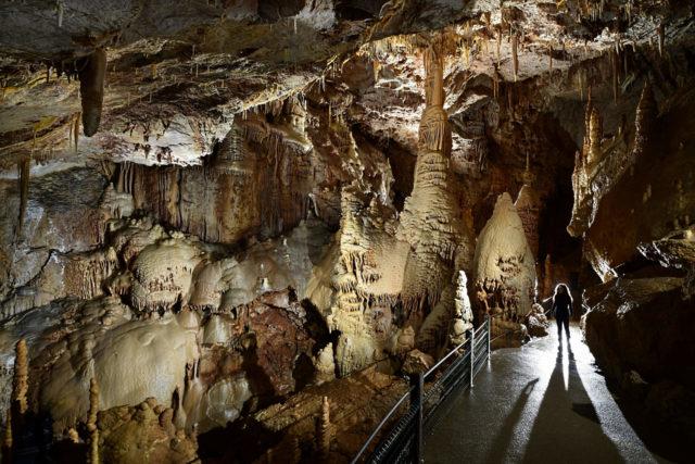 Occitanie Anecat Grottes de France grotte de dargilan Lozère