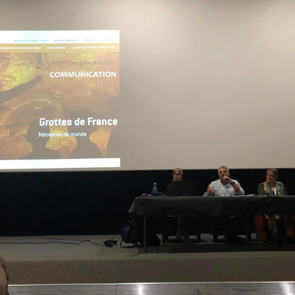 Congrès grottes de France 2021_reunion de travail